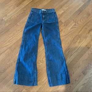J BRAND Bette High Rise Wide Leg 24 Jeans